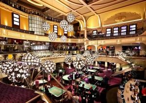 Juegos clasicos en el casino Hippodrome de Londres